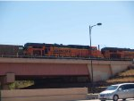 BNSF 5748 #1 rear DPU in a NB coal train at 12:21pm