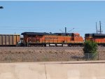 BNSF 6241 #1 rear DPU in a NB manifest at 12:23pm