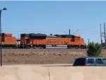 BNSF 9240 #2 rear DPU in a NB coal train at 3:08pm