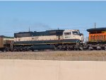 BNSF 9607 #2 power in a SB coal train at 3:44pm