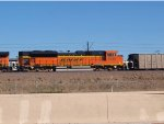 BNSF 9335 #2 power in a NB coal train at 3:58pm