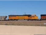 BNSF 9908 #1 rear DPU in a NB coal train at 3:58pm
