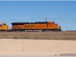 BNSF 6373 #2 DPU in a NB coal train at 3:58pm