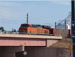 BNSF 6279 leads a NB coal train at 4:14pm (stopped)