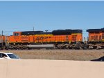 BNSF 9343 #2 power in a SB coal train at 4:14pm