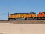 BNSF 9842 #2 DPU in a SB coal train at 4:14pm