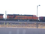 BNSF 6150 #2 power in a NB coal train at 9:22am