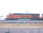 BNSF 5854 leads a NB coal train at 10:00am