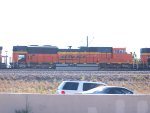 BNSF 9251 #2 power in a NB coal train at 10:00am