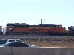 BNSF 9397 #3 power in a NB coal train at 10:00am
