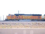 BNSF 9906 leads a NB coal train at 10:54am