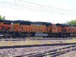 BNSF 8888 #2 power in a NB coal train at 12:02pm