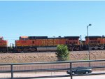 BNSF 4686 #2 power in a SB manifest at 1:40pm