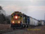 BNSF SD40-2 6727