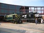 Visiting Equipment at Railfest 2011