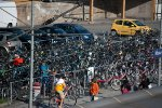 Mass of bicycles