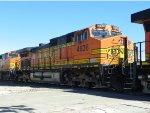 BNSF C44-9W 4636