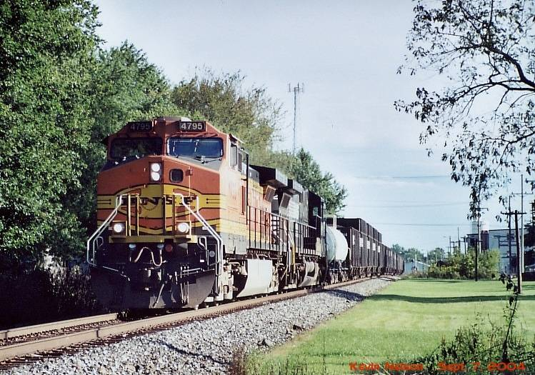 BNSF 4795 C44-9