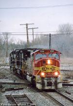 BNSF 8286 SD75I