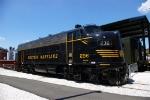 Western Maryland #236 EMD F7A