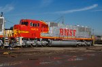 BNSF 8253, EMD SD75M, NEW delivery at BNSF Clyde Yard