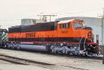 BNSF 9297, EMD SD60M, New Heritage paint experiment at Clyde Yard