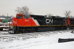 CN 8936, EMD SD70M-2, NEW at the CN-IC Yard
