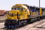 ATSF 4000, EMD GP60, Class unit, not brand new but still fresh at Corwith Yard