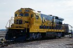 ATSF 6403, GE B23-7, New repaint, working in the yard