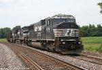 NS #6774 on a ballast train