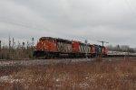 U71581 heads south