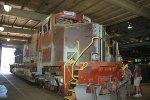 BNSF 793 repairs underway