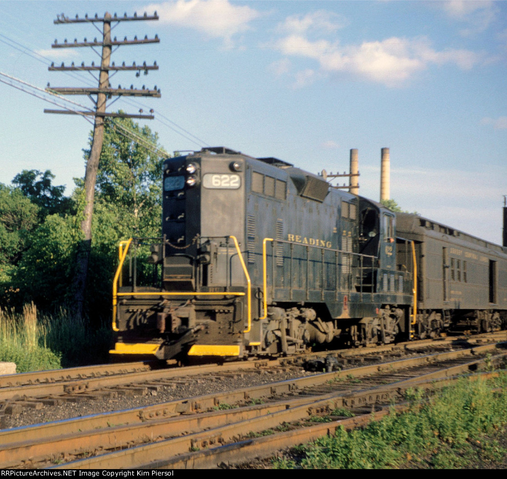 "RDG 622 Train #194 ""Harrisburg Special"""