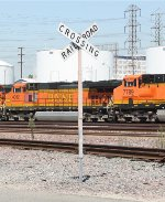 BNSF Commerce yard.