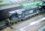 N&W GP9 2483