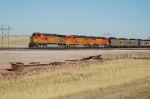 BNSF 4844 at Jacobs Ranch Mine