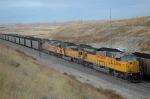 UP 8046 East at East Coal Creek