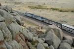 Amtrak on the rocks
