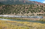 Amtrak 6 at Yarmony
