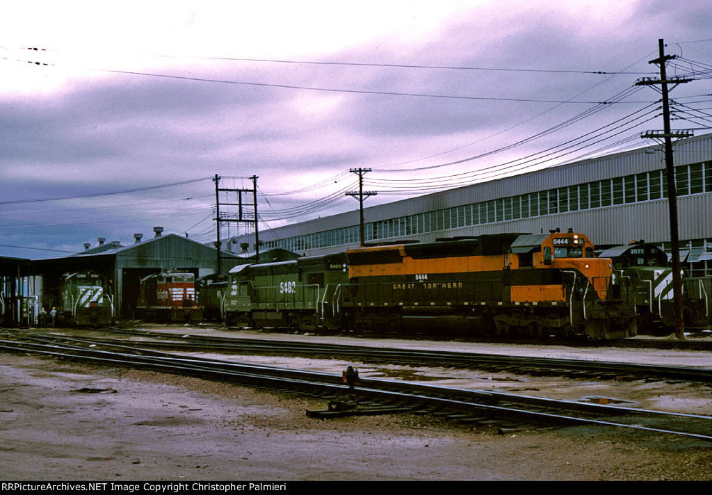 BN 6444 and BN 5482