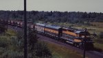 A Great Northern ore train headed for Superior and Duluth in 1967.