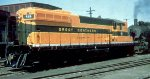 GN SD9 at Mpls Jct MN in 1955.