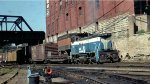 Great Northern SW1500 in back of the Mpls MN GN Depot in 1968.
