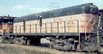 Milwaukee Road Alco road slug in 1977 in St Paul MN.