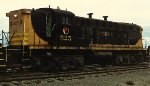 Northern Pacific Baldwin at Northtown Mpls MN in 1969.