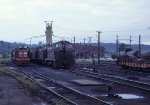 CB&Q engine facilities at St Paul MN Daytons Bluff yard in 1969.