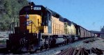 CNW freight leaving Belt Yard at Daytons Bluff in St. Paul MN.