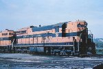 Great Northern SD9 in Mpls MN in 1965.