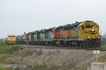 BNSF 2567 leads the oldies
