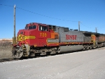 BNSF 759 makes a pit stop